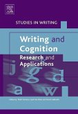 Writing and Cognition: Research and Applications