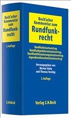 Beck'scher Kommentar zum Rundfunkrecht - Hahn, Werner / Vesting, Thomas (Hrsg.)