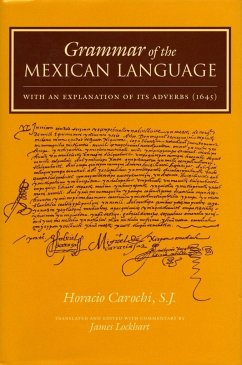 Grammar of the Mexican Language with an Explana...