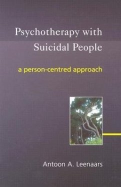 Psychotherapy with Suicidal People - Leenaars, Antoon A.