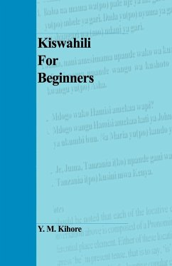 9789976602586 - Kihore, Y M: Kiswahili for Beginners - Book