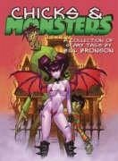 Chicks & Monsters: A Collection of Scary Tails - Bronson, Bill