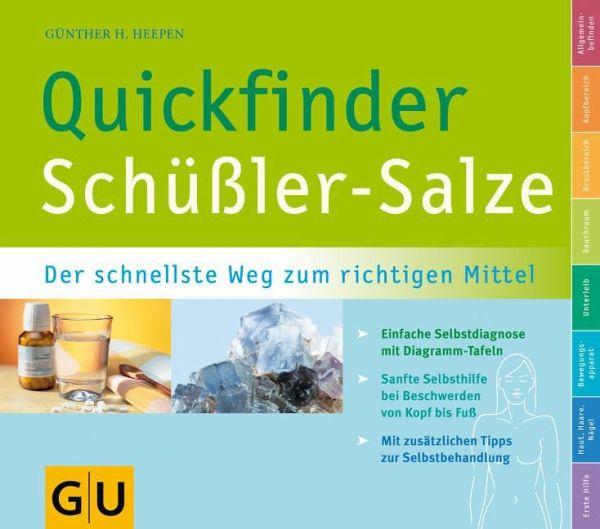 Quickfinder Schüßler-Salze - Heepen, Günther H.