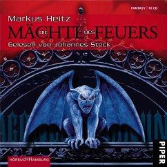 Die Mächte des Feuers / Drachen Trilogie Bd.1 (10 Audio-CDs) - Heitz, Markus