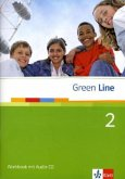 Green Line 2. Workbook mit Audio CD