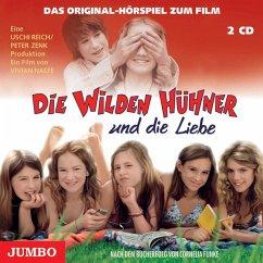 Die wilden Hühner und die Liebe / Die Wilden Hühner Bd.5 (2 Audio-CDs) - Funke, Cornelia