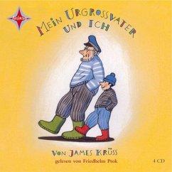 Mein Urgroßvater und ich, 4 Audio-CDs - Krüss, James
