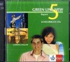 2 Schülerbuch-Audio-CDs, 9. Schuljahr / Green Line New, Ausgabe für Bayern Bd.5