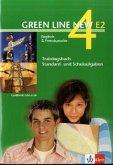 Green Line New E2 4. Trainingsbuch Standard- und Schulaufgaben, Heft mit Audio-CD