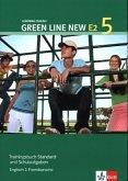 Green Line New E2 5. Trainingsbuch Standard -und Schulaufgaben, Heft mit Audio-CD