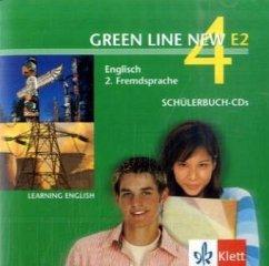 2 Schülerbuch-Audio-CDs, 4. Lernjahr / Green Line New (E2) Bd.4
