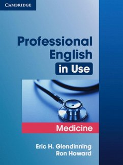 Professional English in Use Medicine - Glendinning, Eric; Howard, Ron