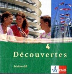 2 Schüler-Audio-CDs, 4. Lernjahr / Découvertes Bd.4