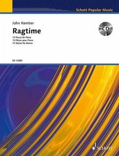 Ragtime, für Klavier, m. Audio-CD