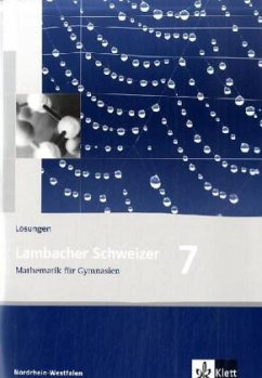 Lambacher Schweizer. 7. Schuljahr. Lösungen. Nordrhein-Westfalen