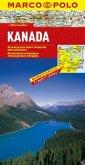 Marco Polo Karte Kanada; Canada