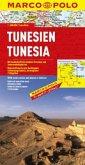 MARCO POLO Kontinentalkarte Tunesien 1 : 800 000