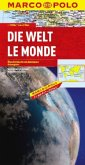 Marco Polo Karte Die Welt; Le Monde; The World