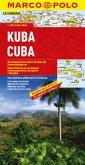 Marco Polo Karte Kuba; Cuba