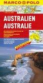 Marco Polo Karte Australien; Australie; Australia