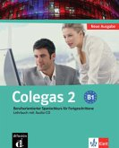 Colegas 2. Neubearbeitung. Lehrbuch inkl. Audio-CD