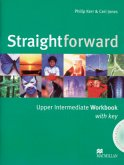 Straightforward Upper intermediate. Workbook with Key and Audio-CD