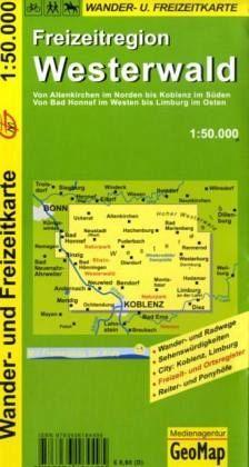 Westerwald Karte.Geomap Karte Freizeitregion Westerwald