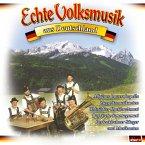 Echte Volksmusik aus Deutschland, 1 Audio-CD