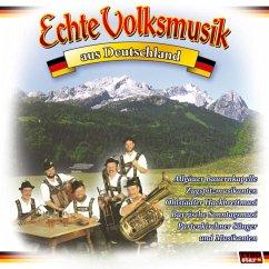 Echte Volksmusik aus Deutschland, 1 Audio-CD - Diverse