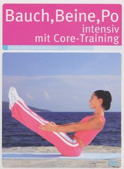 Bauch-Beine-Po intensiv mit Core-Training, 1 DVD-Video