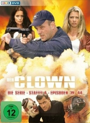 Der Clown - Die Serie Staffel 4 3 DVDs