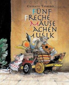 Fünf freche Mäuse machen Musik