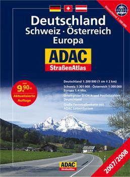adac stra enatlas deutschland schweiz sterreich europa. Black Bedroom Furniture Sets. Home Design Ideas