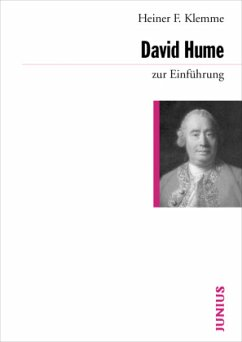 David Hume zur Einführung - Klemme, Heiner F.