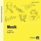Musik, 2. Klasse, 1 Audio-CD
