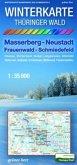 Winterkarte Thüringer Wald - Masserberg, Neustadt, Frauenwald, Schmiedefeld