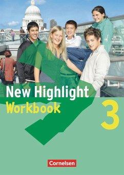 New Highlight - Allgemeine Ausgabe 3: 7. Schuljahr. Workbook - Berwick, Gwen