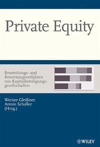 Private Equity - Beurteilungs- und Bewertungsve...