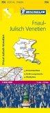 Michelin Karte Friaul-Julisch Venetien; Friuli-Venezia Giulia