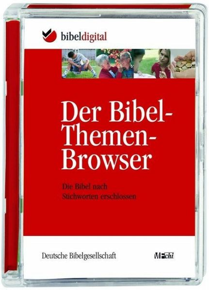 Der Bibel-Themen-Browser, 1 CD-ROM / Bibelausgaben