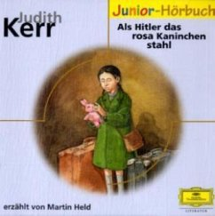 Als Hitler das rosa Kaninchen stahl, 1 Audio-CD - Kerr, Judith