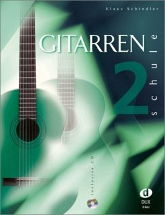 Gitarrenschule, m. Audio-CD - Schindler, Klaus