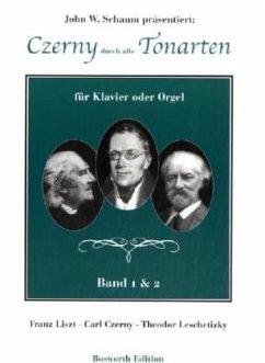 Cerny durch alle Tonarten, für Klavier oder Orgel