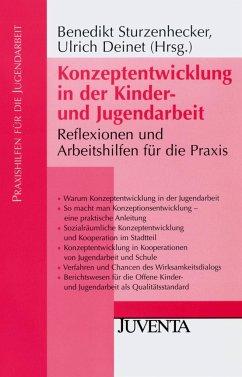 Konzeptentwicklung in der Kinder- und Jugendarbeit - Sturzenhecker, Benedikt / Deinet, Ulrich (Hrsg.)