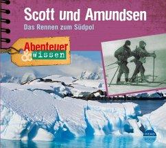 Scott und Amundsen, 1 Audio-CD - Nielsen, Maja