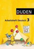 Klasse 3, Arbeitsheft / Duden Sprachbuch, Ausgabe B