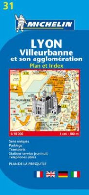 Michelin Karte Lyon