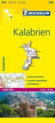 Michelin Karte Kalabrien