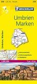 Michelin Karte Umbrien, Marken; Umbria, Marche