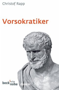 Vorsokratiker - Rapp, Christof